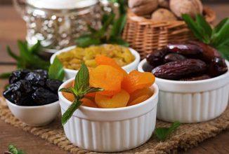 Fructele uscate… Cum sa redai forma initiala fructelor uscate?