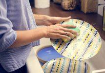Detergent de vase din lămâi și nuci de săpun