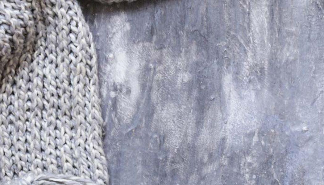 50 de idei#21.Fular tricotat
