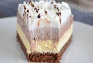 Prăjitură cu înghețată, fără coacere – alegerea ideală pentru zilele călduroase de vară