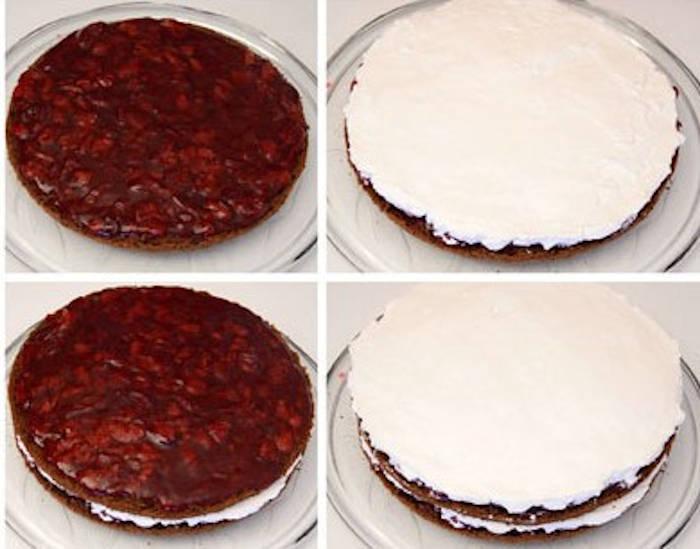 Tort Padurea Neagra ingrediente