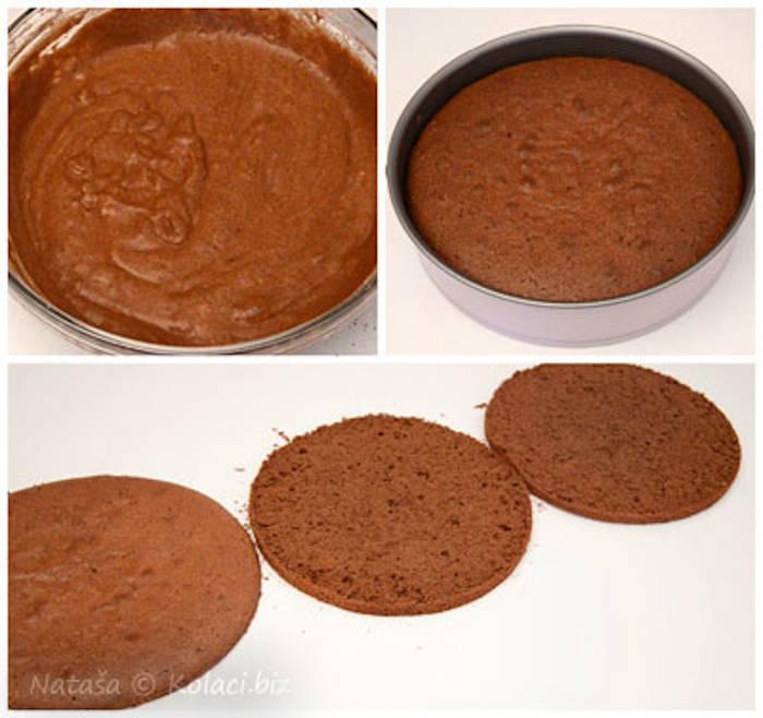 Tort Padurea Neagra preparare blat