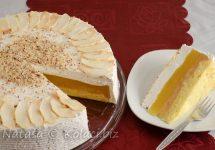 Tort cu mere și budincă – un desert gustos, apetisant și ușor de preparat